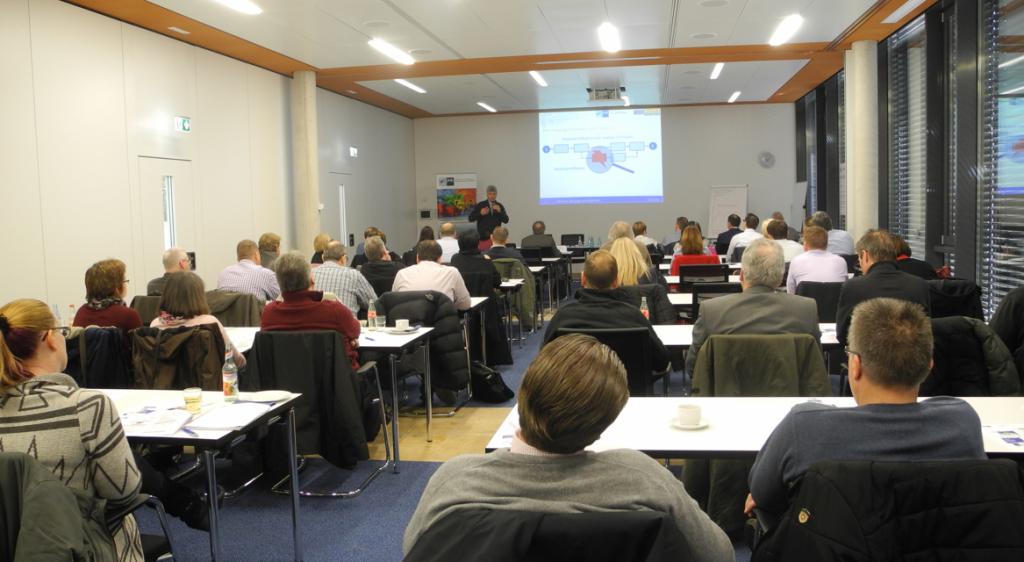 Vortrag Reinhold Kaim bei der IHK in Hanau