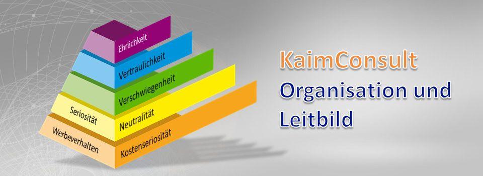 Organisation und Leitbild KaimConsult